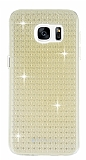 Totu Design Optic Texture Samsung Galaxy S7 Edge Gold Silikon K�l�f