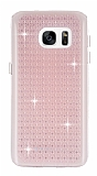 Totu Design Optic Texture Samsung Galaxy S7 Rose Gold Silikon Kılıf
