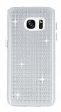 Totu Design Optic Texture Samsung Galaxy S7 Şeffaf Silikon Kılıf