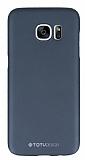Totu Design Samsung Galaxy S7 Dark Silver Sert Rubber Kılıf