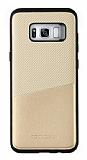 Totu Design Samsung Galaxy S8 Kartlıklı Gold Rubber Kılıf