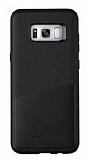 Totu Design Samsung Galaxy S8 Plus Kartlıklı Siyah Rubber Kılıf