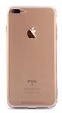 Totu Design Soft Series iPhone 7 Plus Şeffaf Siyah Silikon Kılıf