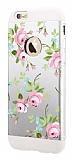 Totu Design Spring iPhone 6 Plus / 6S Plus Resimli Metal Kılıf