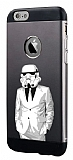Totu Design Stormtrooper iPhone 6 Plus / 6S Plus Resimli Metal Kılıf