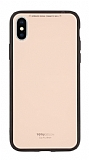 Totu Design Style Series iPhone X / XS Pembe Rubber Kılıf