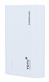 Totu Design Superior 10000 mAh Powerbank Beyaz Yedek Batarya