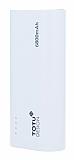 Totu Design Superior 6800 mAh Powerbank Beyaz Yedek Batarya