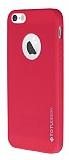 Totu Design Thin Tpu Serisi iPhone 5 / 5S Pembe Silikon K�l�f