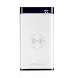 Totu Design Vast Series 8000 mAh Kablosuz Powerbank Beyaz Yedek Batarya