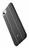 Totu Design Verti Color Series iPhone 7 / 8 Beyaz Çizgili Silikon Kılıf