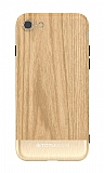 Totu Design Wood iPhone 7 / 8 Gold Rubber Kılıf