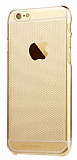 Totu Design Air iPhone 6 Plus / 6S Plus Ultra İnce Gold Rubber Kılıf