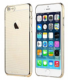 Totu Design Breeze iPhone 6 Plus / 6S Plus Gold Rubber Kılıf