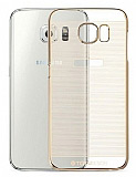 TotuDesign Breeze Samsung i9800 Galaxy S6 Gold Rubber K�l�f