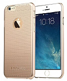 Totu Design iPhone 6 / 6S Golden Serisi Nobilty Gold Rubber Kılıf