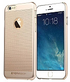 Totu Design iPhone 6 / 6S Golden Serisi King Gold Rubber Kılıf
