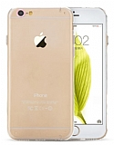Totu Design iPhone 6 Plus / 6S Plus Rose Gold Metal Tuşlu Kamera Korumalı Kristal Kılıf