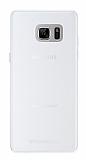 Totu Design Samsung Galaxy Note FE Şeffaf Rubber Kılıf