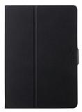 TotuDesign Smart Awakening iPad Air 2 Standl� 360 Derece D�ner Standl� Siyah Deri K�l�f