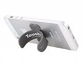 Touch- u Silikon Siyah Telefon Standı