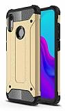 Tough Power Huawei Y6 2019 / Honor 8A Ultra Koruma Gold Kılıf