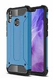 Tough Power Honor 8X Ultra Koruma Mavi Kılıf
