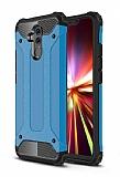 Tough Power Huawei Mate 20 Lite Ultra Koruma Mavi Kılıf