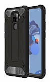 Tough Power Huawei Mate 30 Lite Ultra Koruma Siyah Kılıf