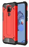 Tough Power Huawei Mate 30 Lite Ultra Koruma Kırmızı Kılıf