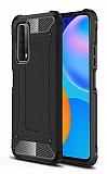 Tough Power Huawei P Smart 2021 Ultra Koruma Siyah Kılıf