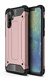 Tough Power Huawei P30 Pro Ultra Koruma Rose Gold Kılıf