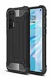Tough Power Huawei P40 Ultra Koruma Siyah Kılıf