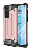 Tough Power Huawei P40 Ultra Koruma Rose Gold Kılıf
