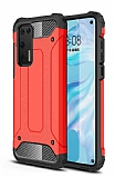 Tough Power Huawei P40 Ultra Koruma Kırmızı Kılıf