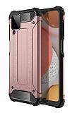 Tough Power Samsung Galaxy M12 Ultra Koruma Rose Gold Kılıf