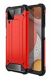 Tough Power Samsung Galaxy M12 Ultra Koruma Kırmızı Kılıf