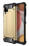 Tough Power Samsung Galaxy M12 Ultra Koruma Gold Kılıf
