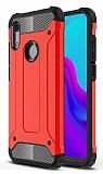 Tough Power Huawei Y5 2019 Ultra Koruma Kırmızı Kılıf
