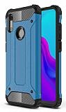 Tough Power Huawei Y5 2019 Ultra Koruma Mavi Kılıf