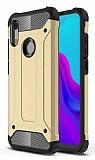 Tough Power Huawei Y5 2019 Ultra Koruma Gold Kılıf