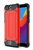 Tough Power Huawei Y6 2018 Ultra Koruma Kırmızı Kılıf
