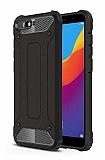 Tough Power Huawei Y6 2018 Ultra Koruma Siyah Kılıf