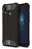 Tough Power Huawei Y7 Prime 2019 Ultra Koruma Siyah Kılıf