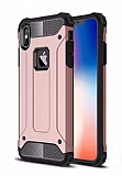 Tough Power iPhone XS Max Ultra Koruma Rose Gold Kılıf