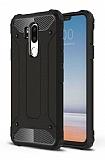 Tough Power LG G7 ThinQ Ultra Koruma Siyah Kılıf