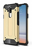 Tough Power LG G7 ThinQ Ultra Koruma Gold Kılıf