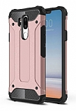 Tough Power LG G7 ThinQ Ultra Koruma Rose Gold Kılıf