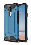 Tough Power LG G7 ThinQ Ultra Koruma Mavi Kılıf