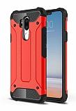 Tough Power LG G7 ThinQ Ultra Koruma Kırmızı Kılıf